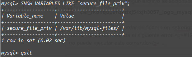 secure-file-priv