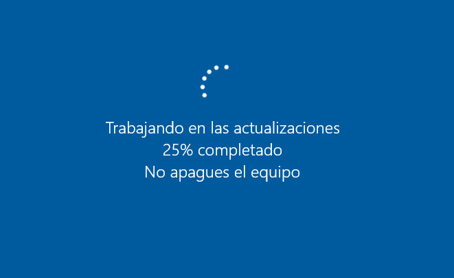 Actualizando Windows